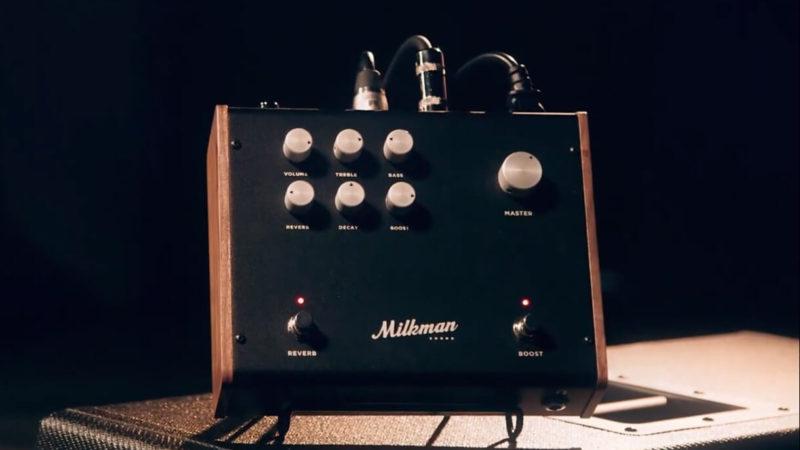 Milkman Sound lanza el The Amp 100, un amplificador híbrido de 100w