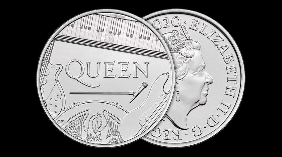 Homenaje a Queen: crean una moneda conmemorativa de la banda