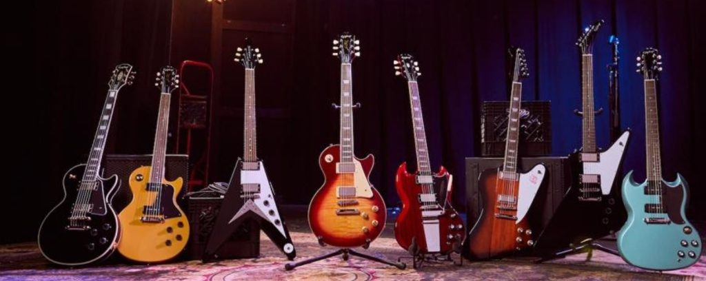 Epiphone's Models based on Gibson's.