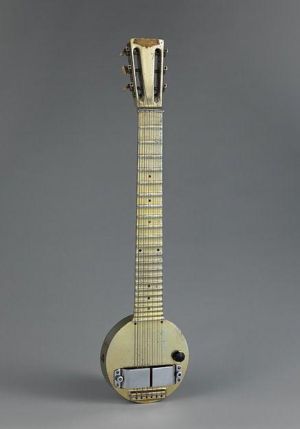 Rickenbacker Frying Pan, la primera guitarra eléctrica Lap Steel.