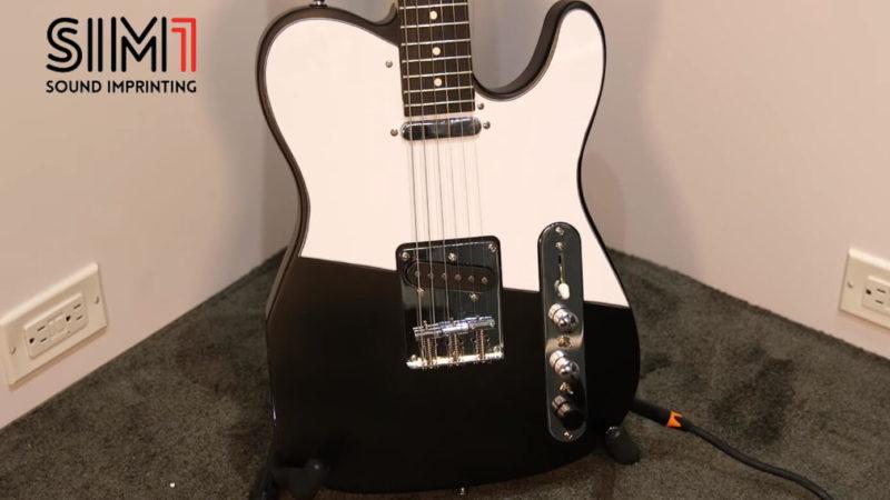 SIM1 Guitar: guitarra inteligente que emula guitarras, amps y más