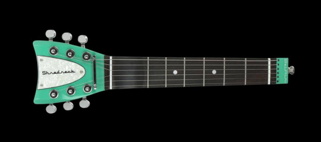 Shredneck, ein Werkzeug zum Üben ohne Gitarre.