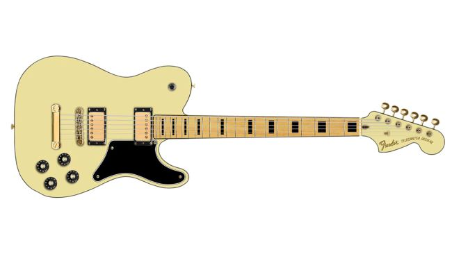 Fender Troublemaker Tele Deluxe de la colección Parallel Universe II