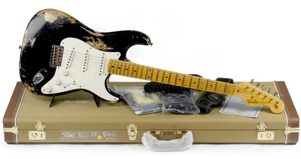 La verdadera historia del relic de las guitarras Fender Custom Shop