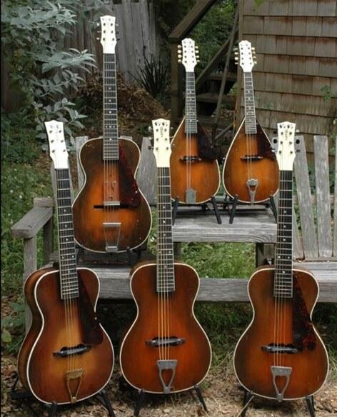 Guitarras y mandolinas Vivi-Tone.
