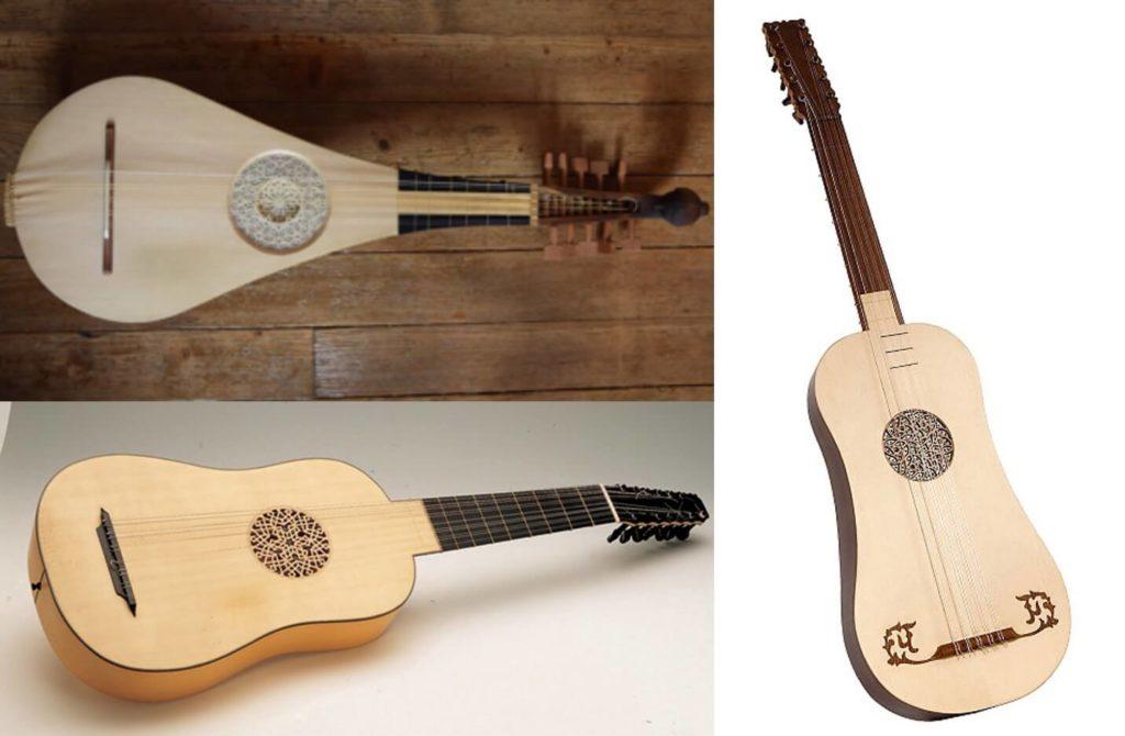 La ascendencia de la guitarra clásica: guiterna española, vihuela y guitarra barroca.