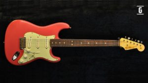 Fender Stratocaster Aged Fiesta Red Custom Shop