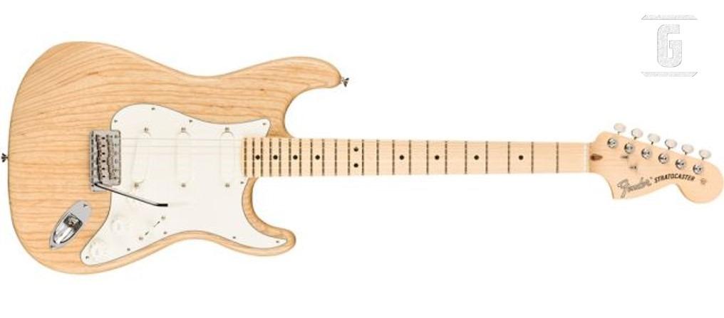 Fender Raw Ash American Performer Stratocaster Edición Limitada.