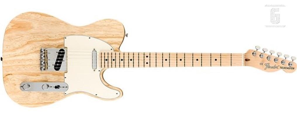 Fender Raw Ash American Performer Telecaster Edición Limitada.