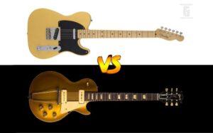 Fender Telecaster vs Gibson Les Paul