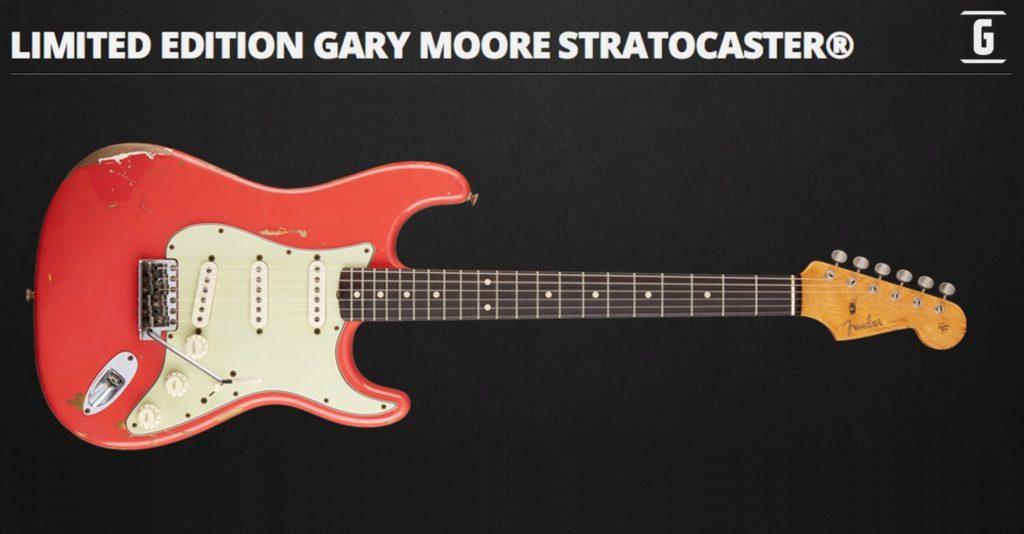 Fender Stratocaster Gary Moore Edición Limitada Custom Shop.
