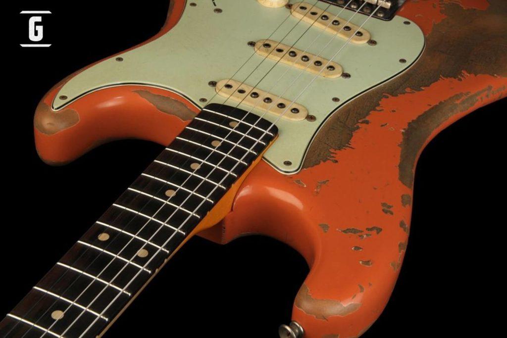 Fender Stratocaster Salmon Pink Custom Shop