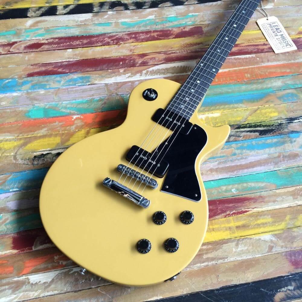Gibson Les Paul Special contemporánea con acabado TV Yellow