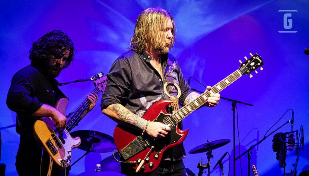 Devon Allman en un concierto.