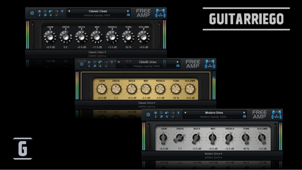 Blue Cat Audio plugins gratuitos: 3 simuladores de amplificadores