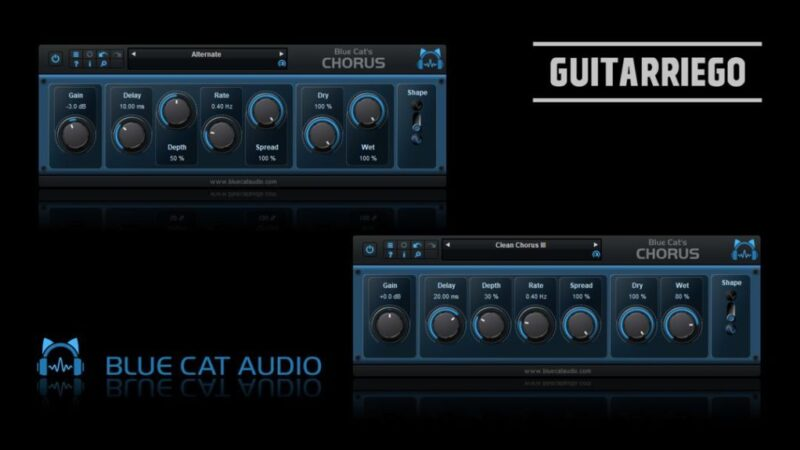 Blue Cat Audio plugins gratuitos: Vintage Chorus