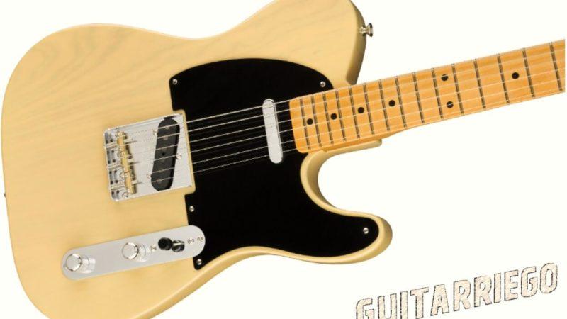 Nueva Fender Broadcaster 70 Aniversario, homenaje al mítico modelo