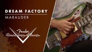 Nueva Fender Marauder de la Dream Factory, una rara Offset de los 60's