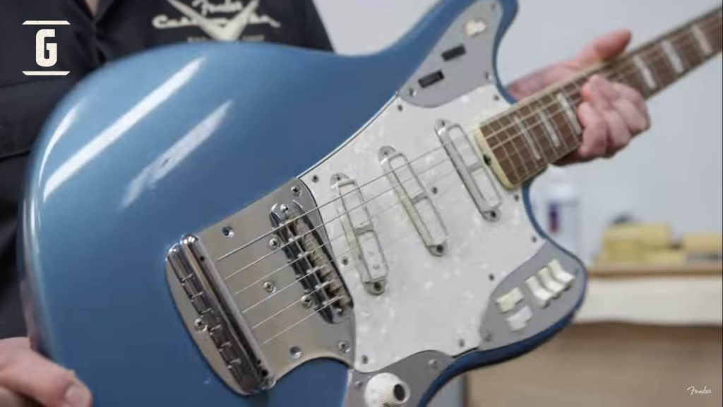 Fender Maruder, a guitar that remained in the prototype stage despite being presented in catalogs in 1965.