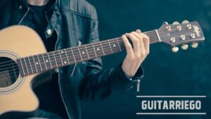 Notas de la guitarra: notas musicales en el diapasón