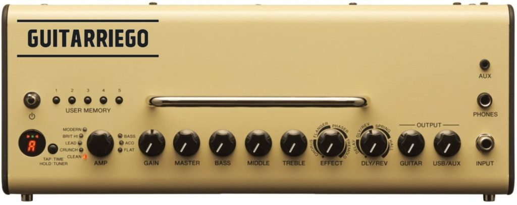Yamaha THR10: Controles.