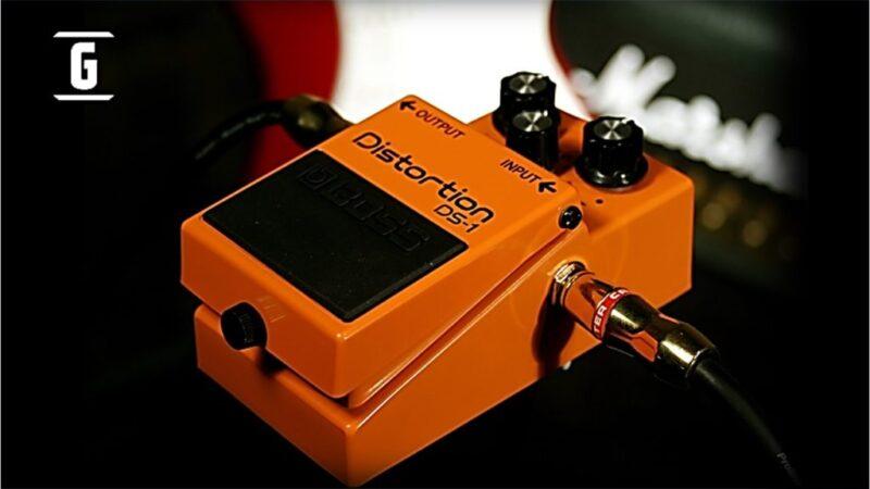 Boss DS-1: El punto de partida de los pedales de Distorsión.