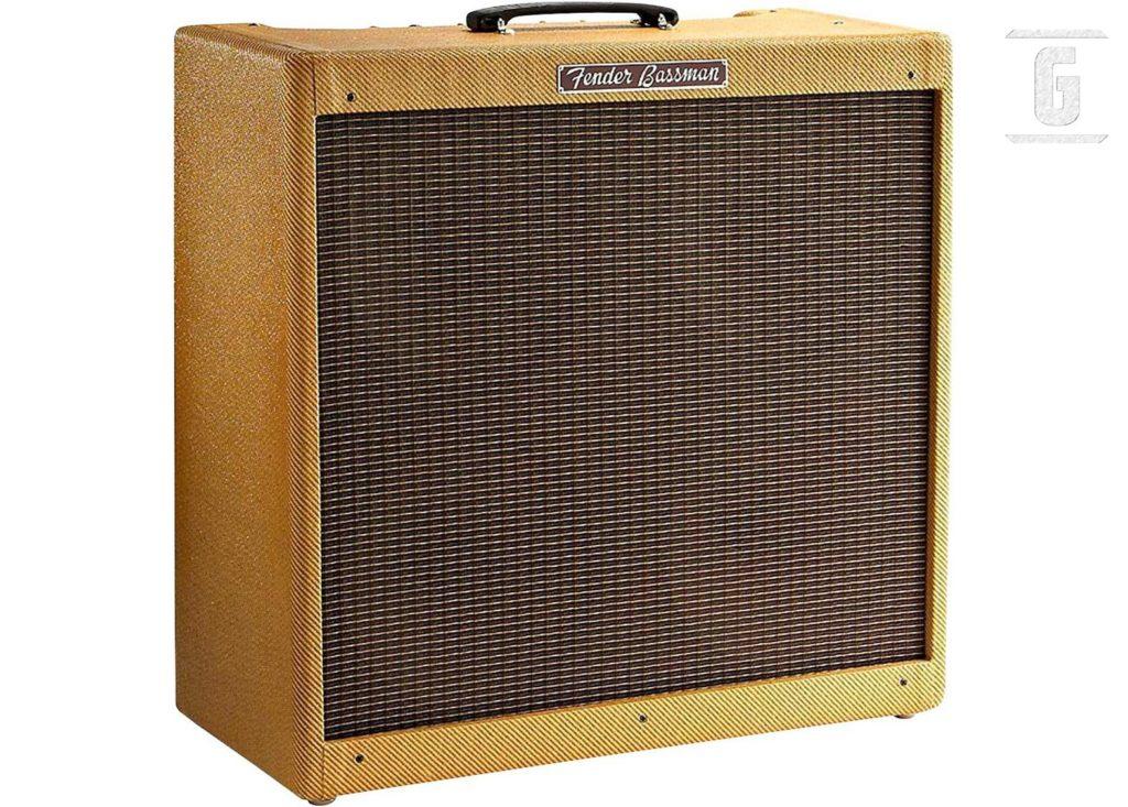 "Fender Bassman 5F6A ""Tweed""는 아마도 Rock에서 가장 상징적인 클래식 기타 앰프 중 하나일 것입니다."