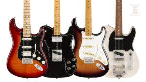 Fender México Guía de Modelos de Guitarras
