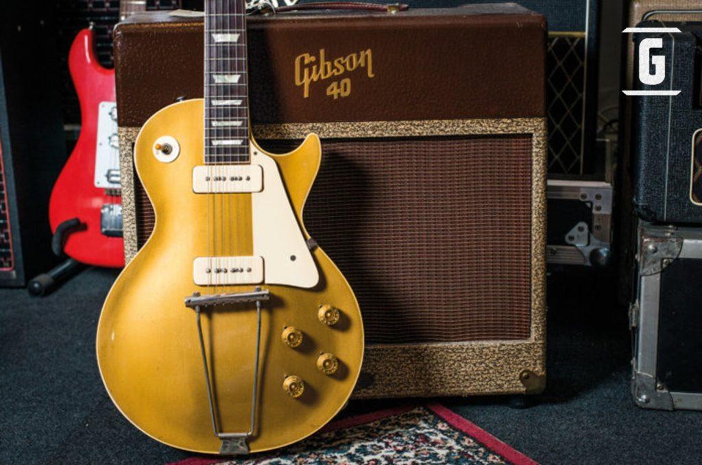 Gibson Les Paul 1952 y Amplificador Gibson 40