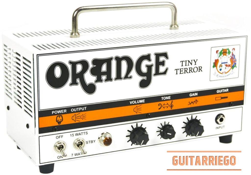 Orange Tiny Terror, uno de los amplificadores clásicos de la marca