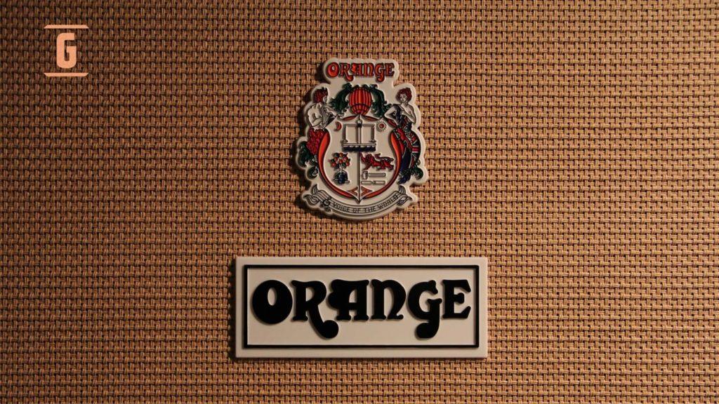 Orange Amplificadores Escudo y Grill Clothe.