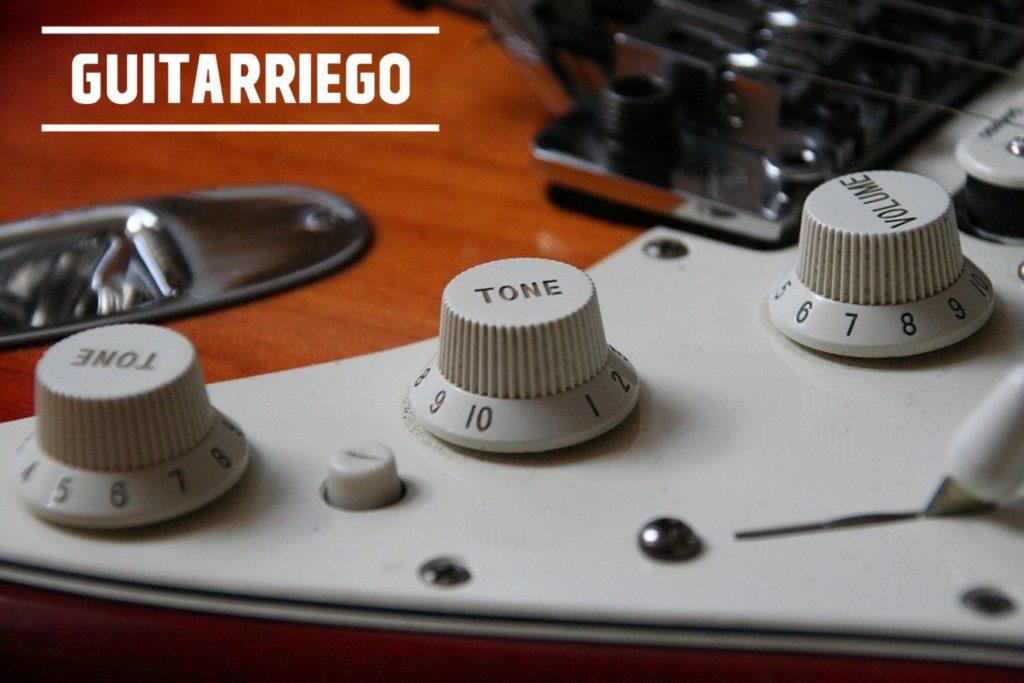 Verbessern Sie den Klang Ihrer Gitarre: Lautstärkeregler und Stratocaster-Ton.
