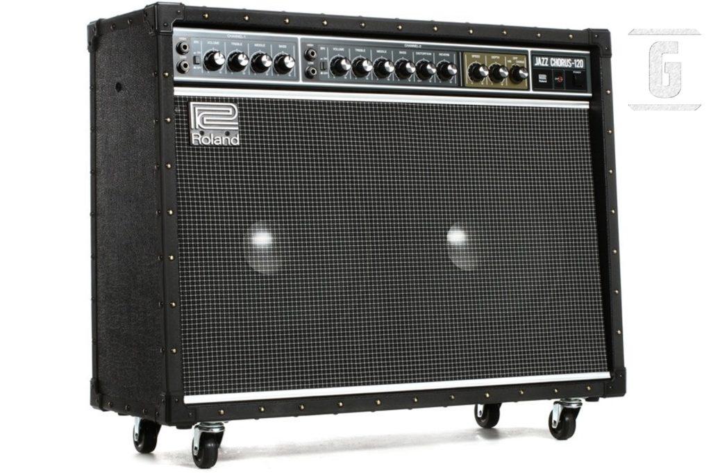 롤랜드 JC-120 재즈 코러스 - 클래식 기타 앰프