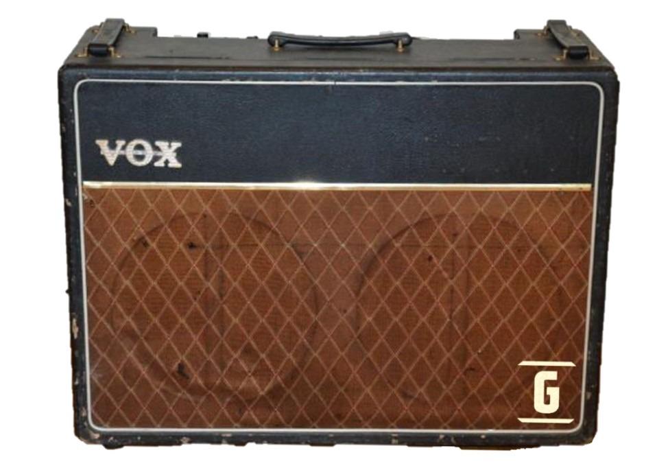 브리티시 톤의 클래식 기타 앰프 중 하나인 Vox AC30 Top Boost.