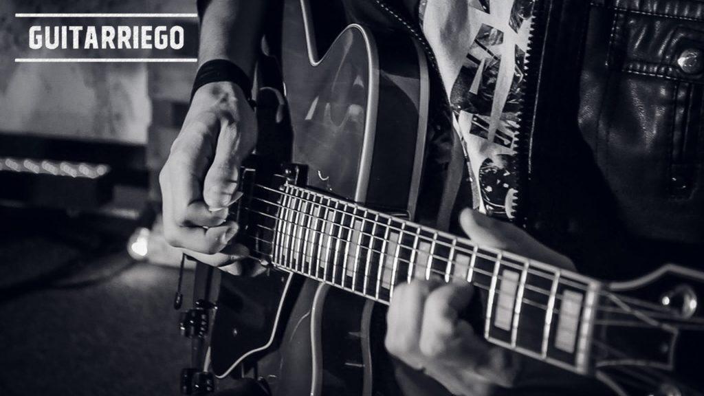 Professionelle Gitarristen