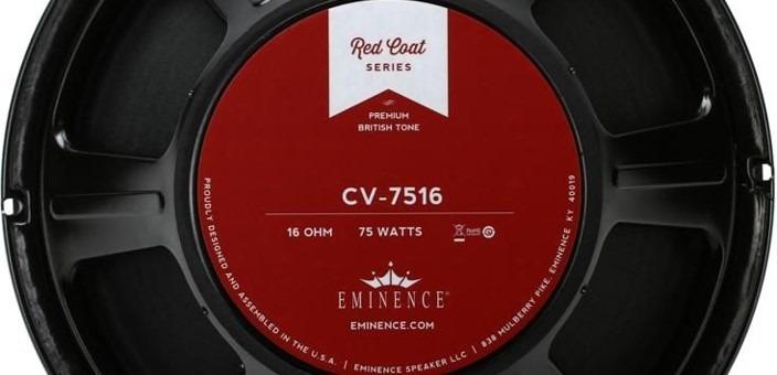 Eminence CV-75, uno de los altavoces más eficientes, con más volumen.