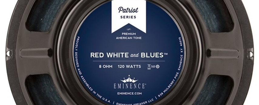 Eminence Red White & Blues