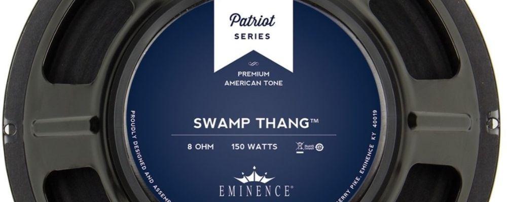 Eminence Swamp Thang, uno de los altavoces más eficientes, con más volumen.