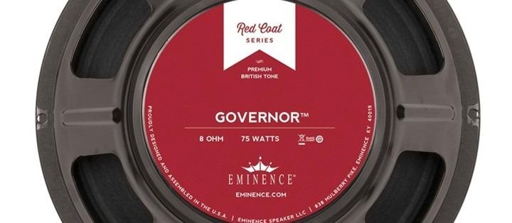 Eminence The Governor, uno de los altavoces más eficientes, con más volumen.