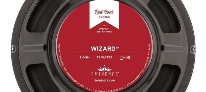 Eminence Wizard, el altavoz más eficientes, con más volumen.