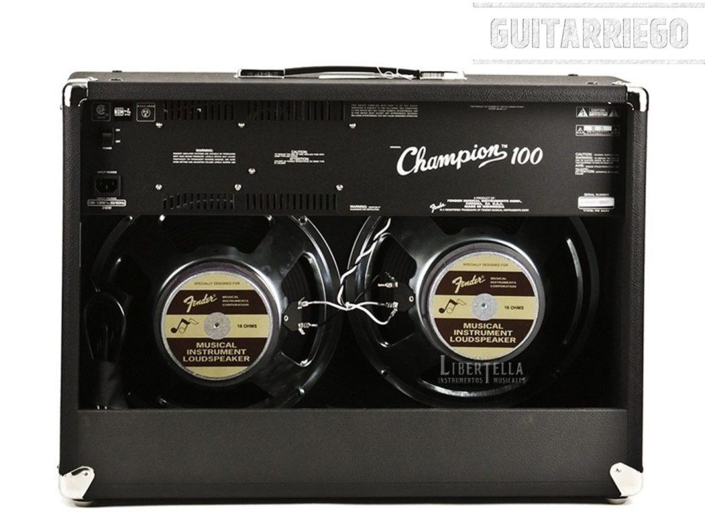 Fender Champion 100: características, opiniones y precio.
