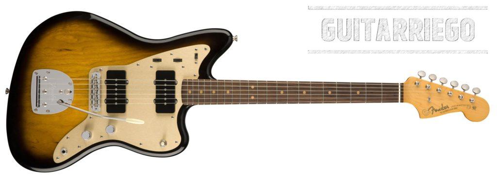 Fender Jazzmaster 58 Reissue, réplica del prototipo de la primera unidad.