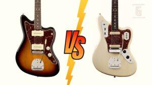 Fender Jazzmaster vs Jaguar guitarras offset características y diferencias