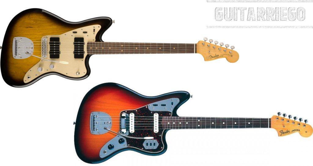 Fender Jazzmaster vs Jaguar: similitudes y diferencias