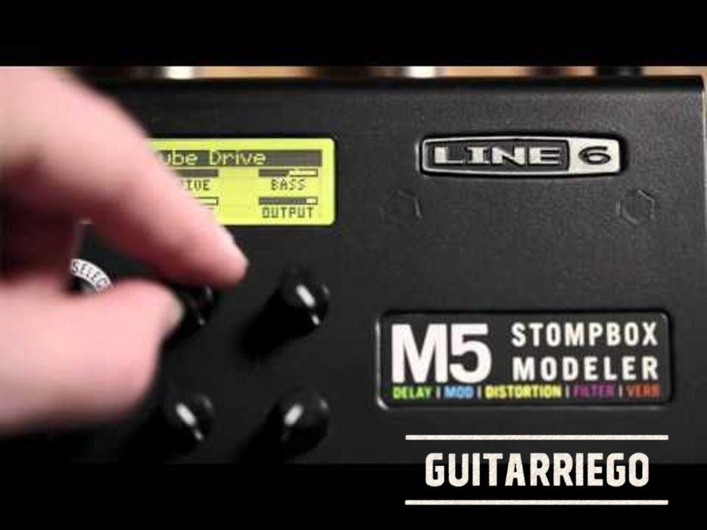 Review y opiniones de Line 6 M5 Stompbox: funcionamiento y uso.