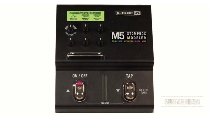 Line 6 M5 Stompbox modeler, review, características y opiniones