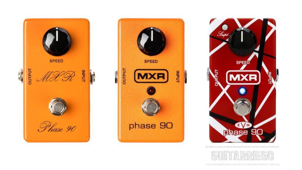 MXR Phase 90: pedal de efecto clásico de Phaser
