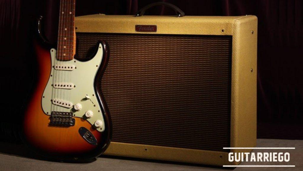 Mejorar tu Tono: Guitarra Fender Stratocaster y Amplificador Fender Blues Deluxe Tweed