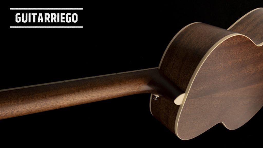 PRS SE P20 y P20E guitarra acustica tipo Parlor, en Vintage Natural, Blacktop y Charcoal