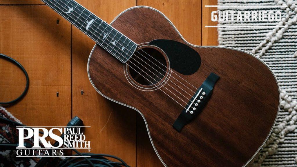PRS SE P20 und P20E Akustische Gitarre vom Typ Salon in Vintage Natural, Blacktop und Charcoal